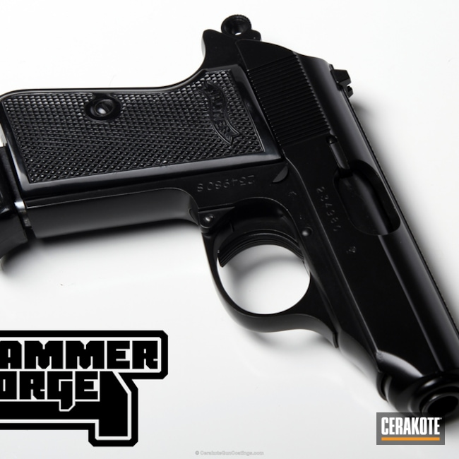 Thumbnail version of the 4th project picture. Graphite Black H-146Q, Walther, Handgun, High Gloss Ceramic Clear