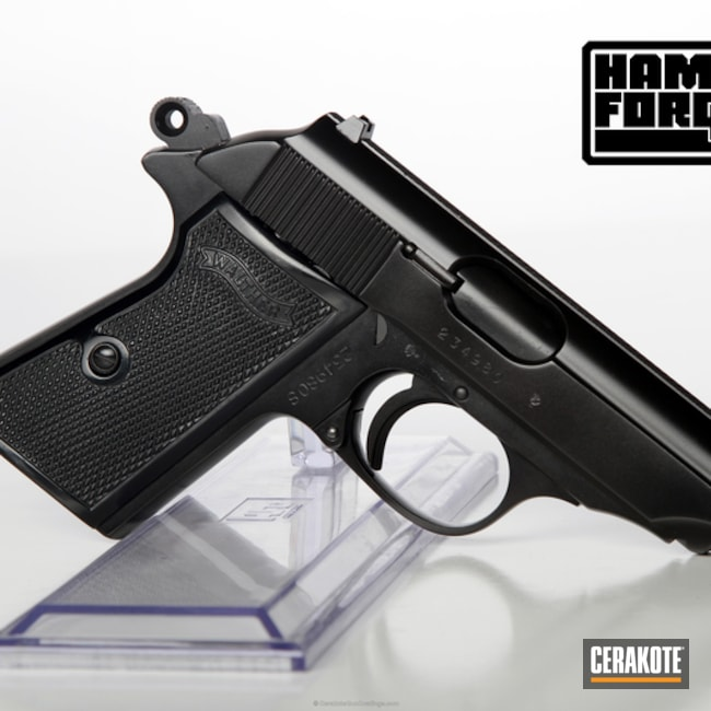 Smaller version of the 3rd project picture. Graphite Black H-146Q, Walther, Handgun, High Gloss Ceramic Clear