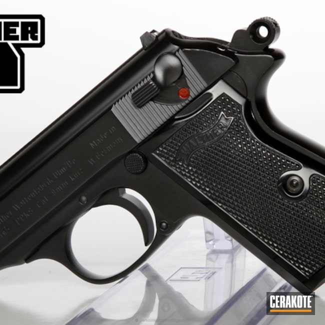 Thumbnail version of the 8th project picture. Graphite Black H-146Q, Walther, Handgun, High Gloss Ceramic Clear