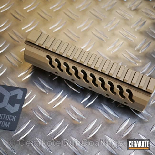 Cerakoted: TROY® COYOTE TAN H-268,Handguard,Gun Parts