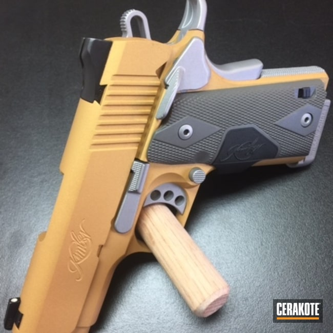 H-122 Gold with H-147 Satin Mag