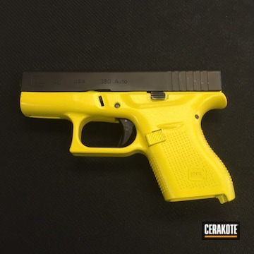 Cerakoted H-166 Electric Yellow