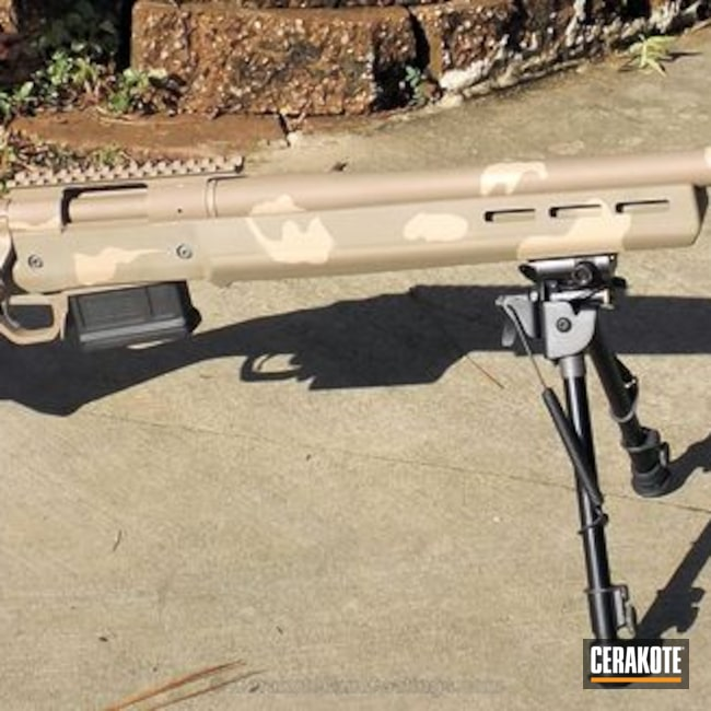 H-267 MagPul Flat Dark Earth with H-199 Desert Sand