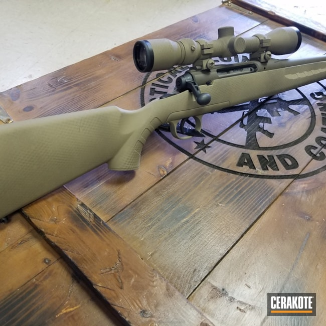 H-265 Flat Dark Earth with H-232 MagPul O.D. Green