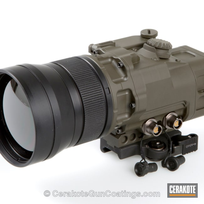 Cerakoted: MAGPUL® O.D. GREEN H-232,Optics