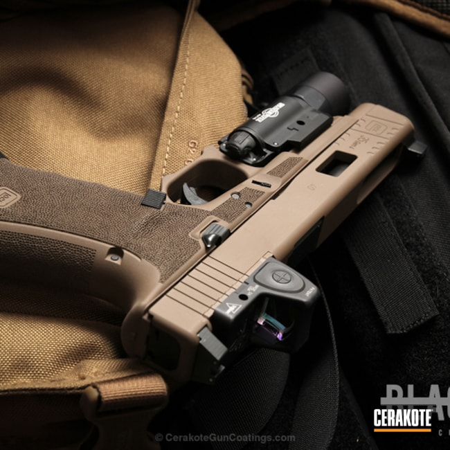Cerakoted: Pistol,Glock,Handguns,GLOCK® FDE H-261