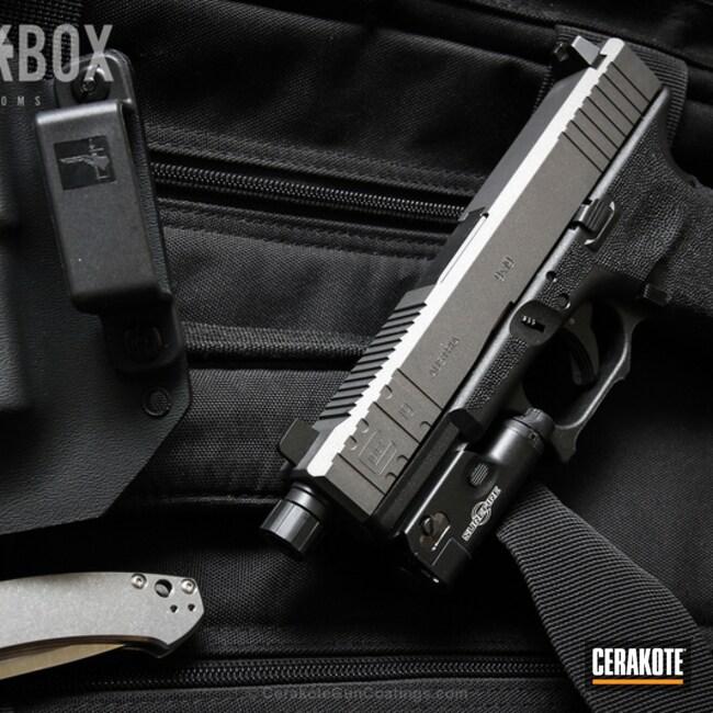 Cerakoted: Tungsten H-237,Pistol,Glock,Handguns