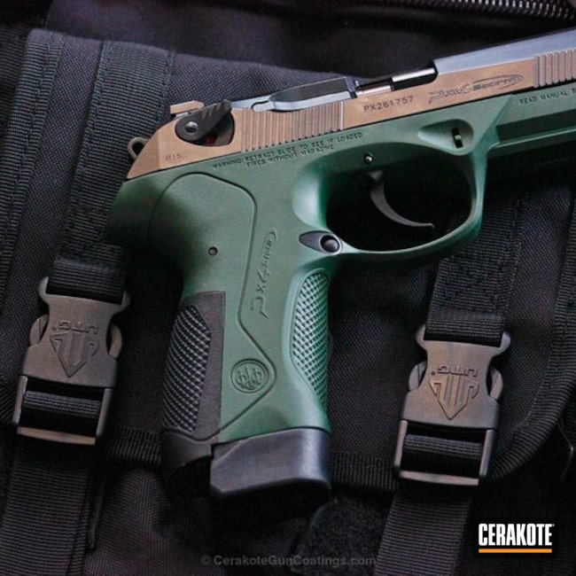Cerakoted H-200 Highland Green