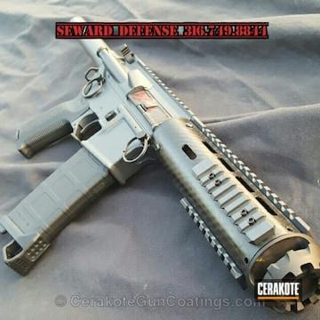 Cerakoted H-234 Sniper Grey With H-146 Graphite Black