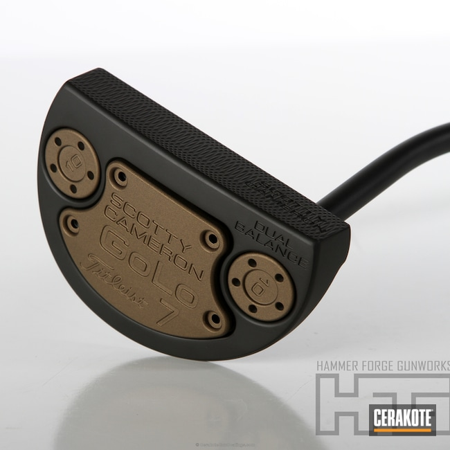 H-146 Graphite Black with H-148 Burnt Bronze