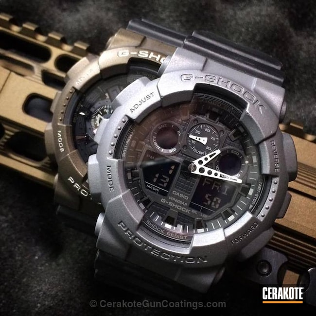 H-227 Tactical Grey with H-148 Burnt Bronze
