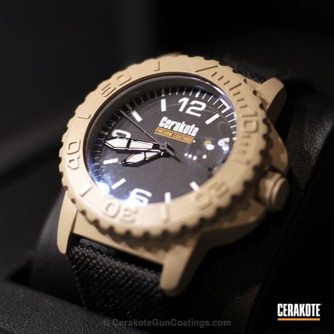 Cerakoted: Wearables,Desert Sand H-199,Undone,More Than Guns,Watches