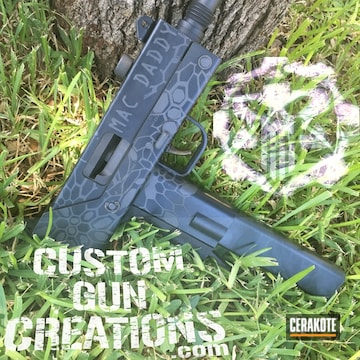 Cerakoted H-146 Graphite Black With H-227 Tactical Grey