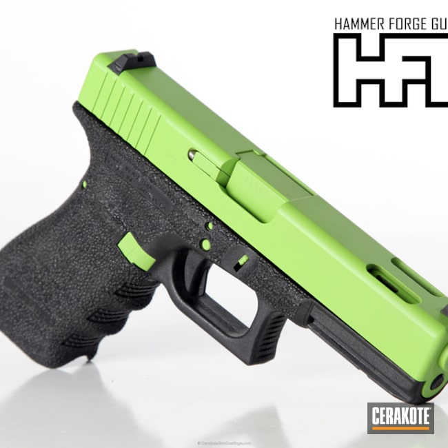 Cerakoted H-168 Zombie Green