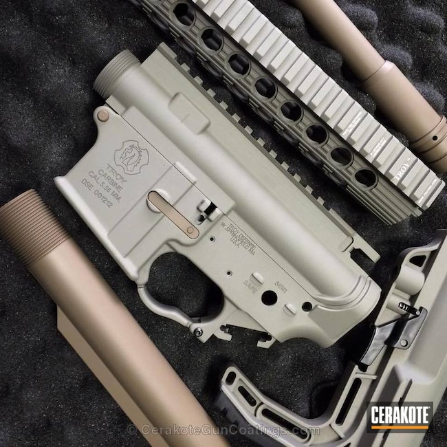H-125 ICON Grey with H-267 MagPul Flat Dark Earth
