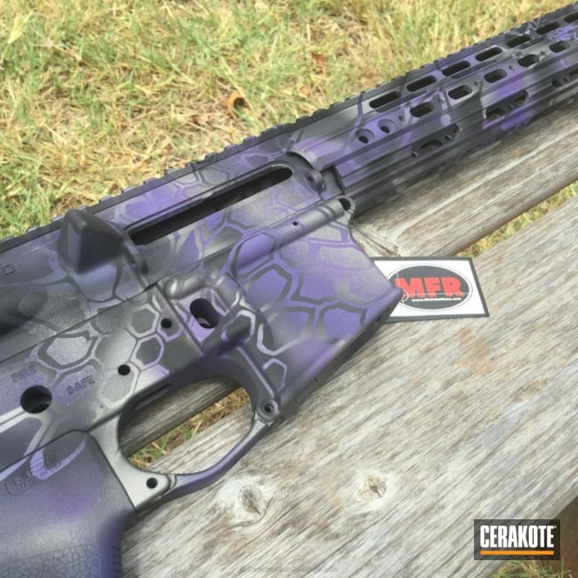 H-197 Wild Purple with H-237 Tungsten and H-152 Stainless
