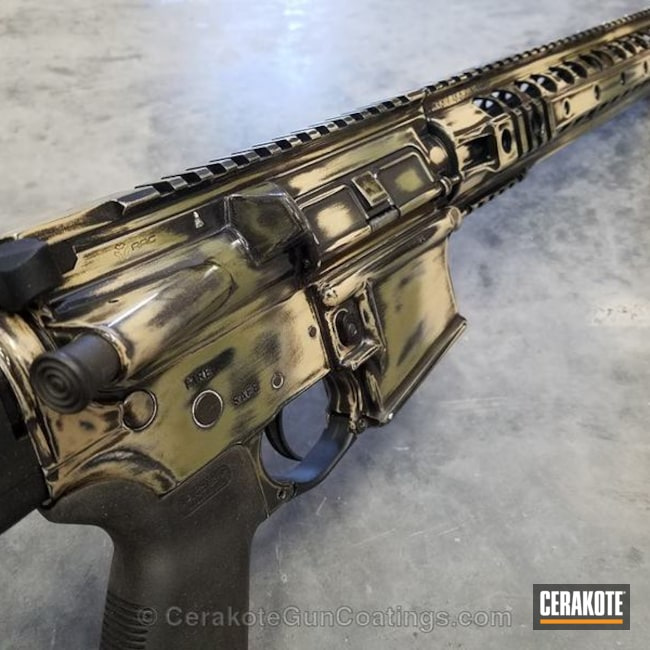 "Thumbnail image for project ""H-189 Noveske Bazooka Green with H-122 Gold and H-143 Benelli Sand"""