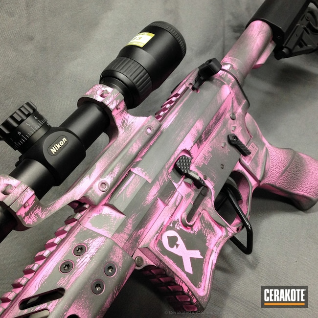 H-234 Sniper Grey with H-141 Prison Pink