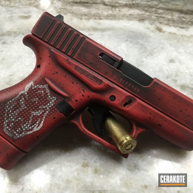 H-216 Smith & Wesson Red, H-146 Graphite Black, H-140 Bright White and H-225 Mud Brown
