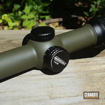 Cerakoted H-229 Sniper Green