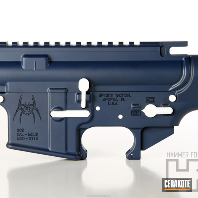 Navy Blue H 127q Version Of The 2nd Project Picture Spike S Tactical Ar 15