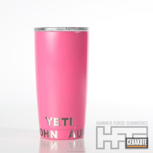 Cerakoted: Gloss Clear,Rambler,YETI,YETI Cup,More Than Guns,Prison Pink H-141