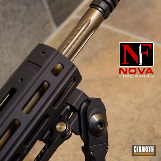 Thumbnail version of the 2nd project picture. Barrel, Fluted Barrel, Tactical Rifle, Burnt Bronze H-148Q