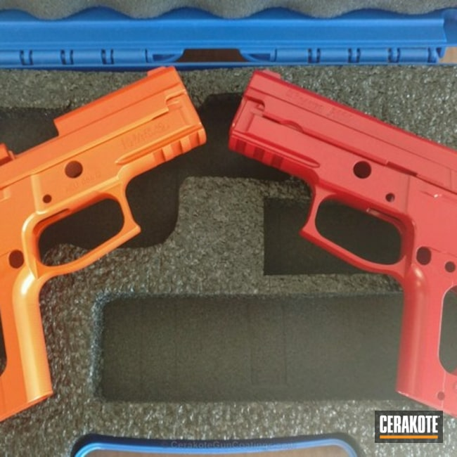 H-216 Smith & Wesson Red with H-128 Hunter Orange