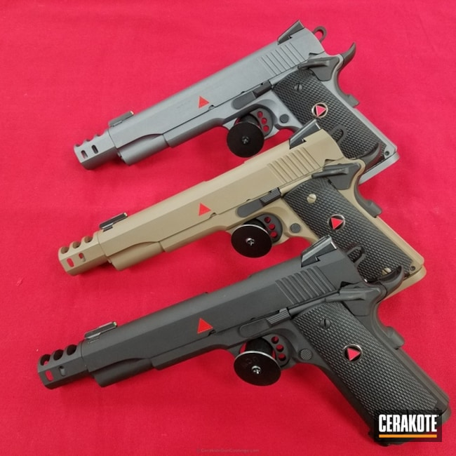 "Thumbnail image for project ""H-267 MagPul Flat Dark Earth with H-146 Graphite Black, H-227 Tactical Grey and H-167 USMC Red"""