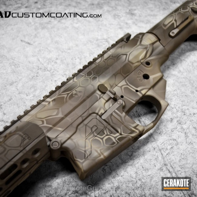 H-267 MagPul Flat Dark Earth with H-236 O.D. Green and H-199 Desert Sand