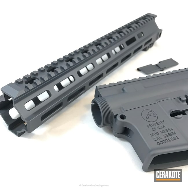 Cerakoted: MAGPUL® STEALTH GREY H-188,Gun Parts,AR-15