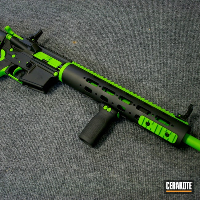 H-168 Zombie Green and H-146 Graphite Black