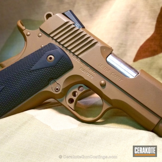 Cerakoted H-268 Coyote Tan
