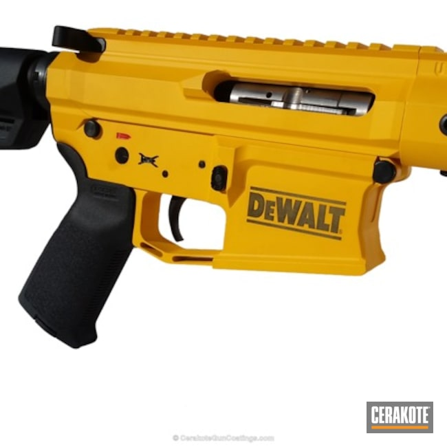 H-126 DeWalt Yellow and H-146 Graphite Black