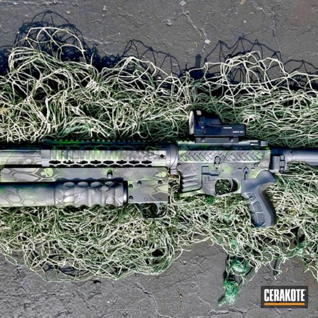 Cerakoted: Yankee Hill Machine,37mm Launcher,30cal Suppressor,Law Tactical Folding Stock,Graphite Black H-146,300 Blackout,Wild Green H-207,SMITH & WESSON® GREY H-214,Tactical Rifle,DOLOS,SIG™ DARK GREY H-210,Punisher Kryptek