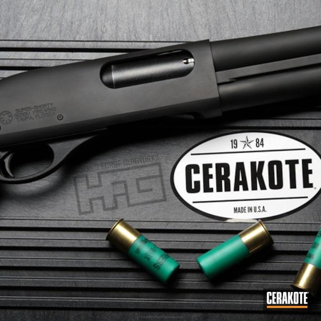 Cerakoted: Serbu Firearms,Shotgun,Super Shorty,Armor Black H-190,12 Gauge,Pump-action Shotgun