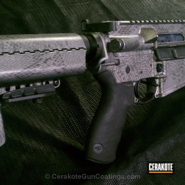 Cerakoted H-147 Satin Mag With C-110 Micro Slick And Mc-155 Low Gloss Ceramic Micro Clear