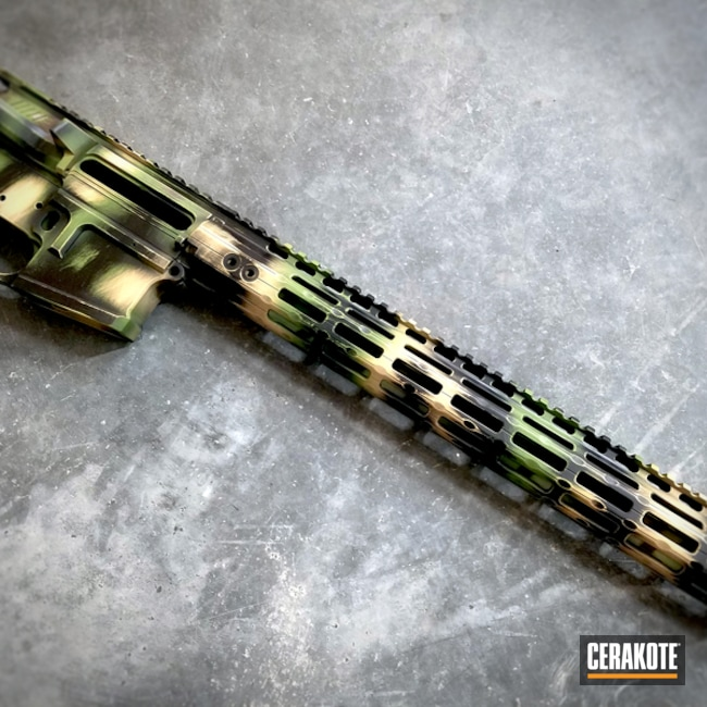 "Thumbnail image for project ""H-146 Graphite Black, H-122 Gold, H-143 Benelli Sand, H-189 Noveske Bazooka Green and H-207 Wild Green"""