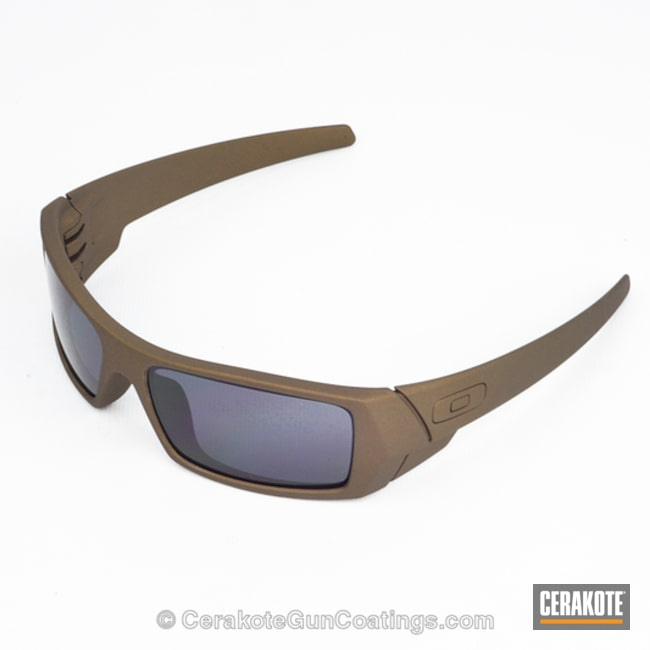 Cerakoted: Sunglasses,Oakley,Burnt Bronze H-148,More Than Guns,Oakley Gascan