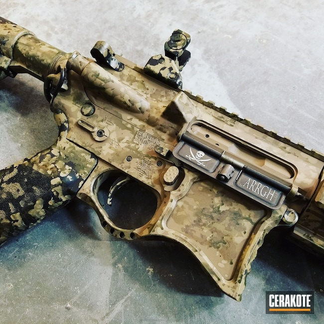 "Thumbnail image for project ""H-148 Burnt Bronze, H-267 MagPul Flat Dark Earth, H-200 Highland Green and H-237 Tungsten"""