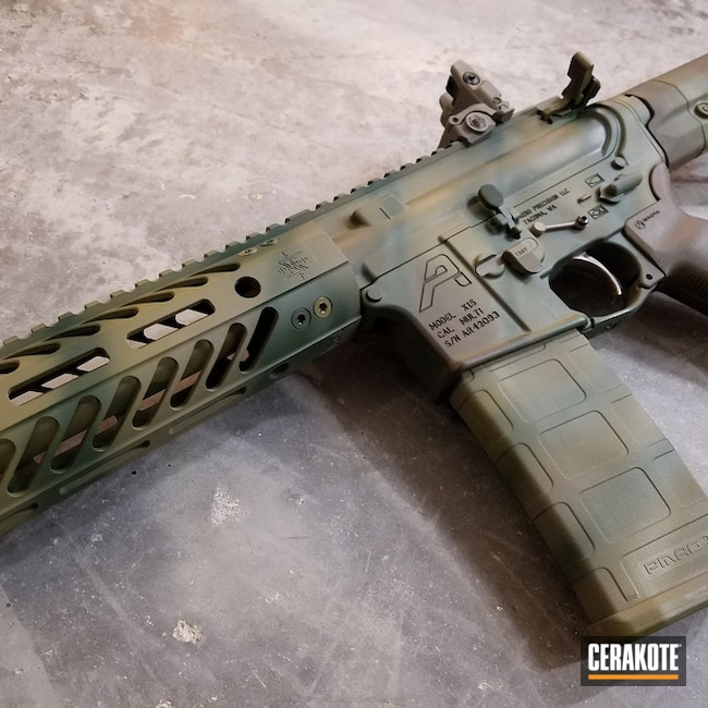 "Thumbnail image for project ""H-232 MagPul O.D. Green, H-248 Forest Green, H-189 Noveske Bazooka Green and H-207 Wild Green"""