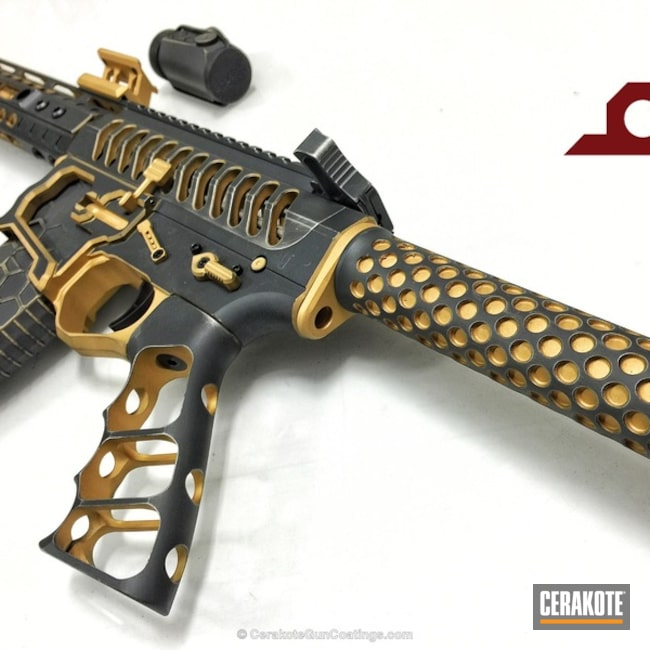 H-122 Gold and H-234 Sniper Grey