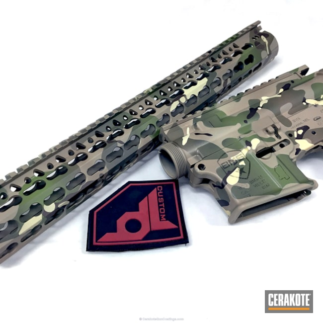 H-204 MultiCam Green, H-143 Benelli Sand, H-199 Desert Sand and H-258 Chocolate Brown