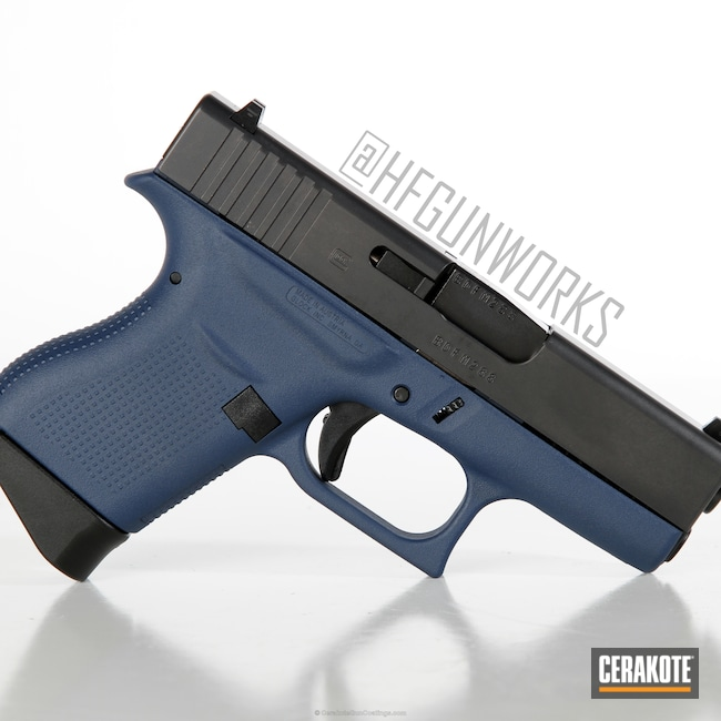 Version Of The 1st Project Picture Glock Handgun Two Tone Pistol