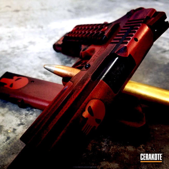 "Thumbnail image for project ""H-221 Crimson, H-216 Smith & Wesson Red and H-146 Graphite Black"""