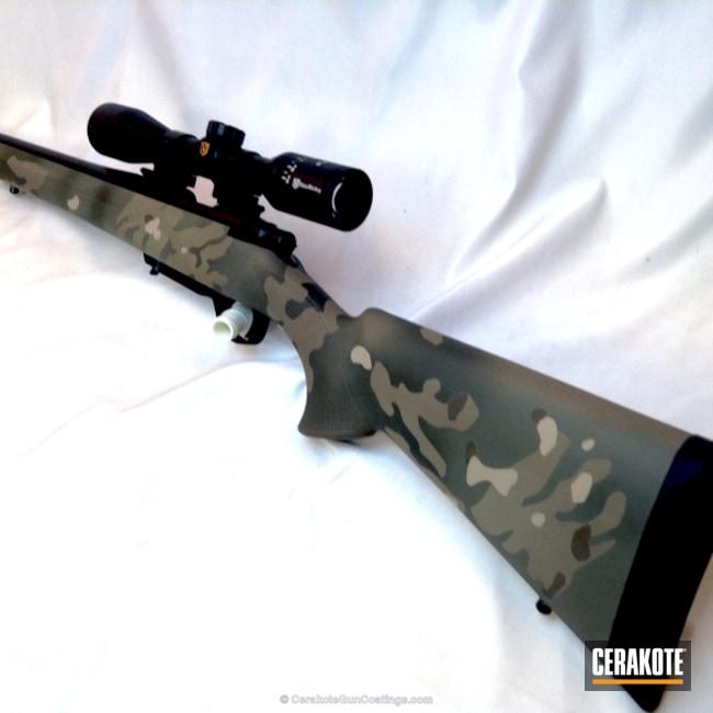 Cerakoted: Rifle,Bolt Action Rifle,MultiCam,Woodland Camo,Howa,Patriot Brown H-226,6.5 Grendel,MAGPUL® O.D. GREEN H-232,Flat Dark Earth H-265,MAGPUL® FOLIAGE GREEN H-231