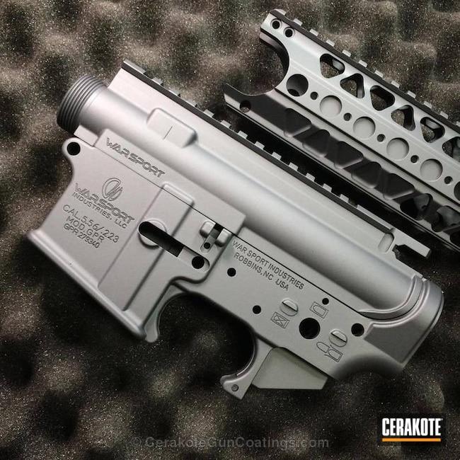 Cerakoted: Upper / Lower,Stone Grey H-262,Receiver,Solid Tone,lvoa,Gun Parts,Warsport
