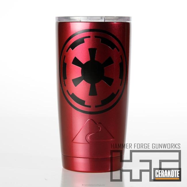 Cerakoted: Gloss Clear,Graphite Black H-146,Galactic Empire,More Than Guns,Cups,Ozark Trail,Star Wars