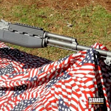 Cerakoted H-237 Tungsten And H-234 Sniper Grey