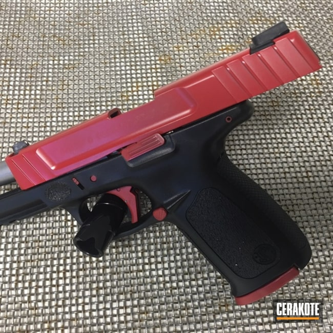 Big version of the 1st project picture. Smith & Wesson, Pistol, Smith & Wesson Red H-216, SD40VE